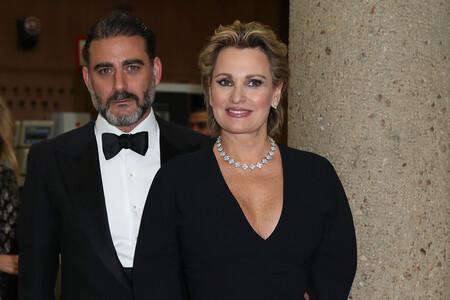 Ainhoa y su marido (o ya ex), Matías.