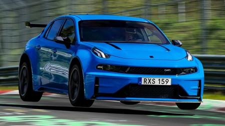 El Lynk & Co 03 Cyan Concept es el cuatro puertas y el tracción delantera más rápido en Nürburgring: ¡7:20 minutos!