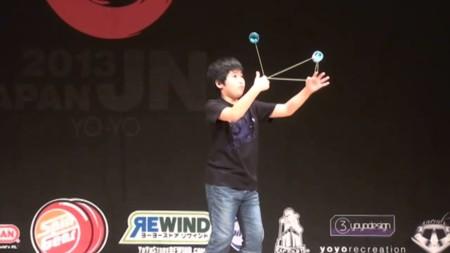 Los trucos de Yo-Yo son aún más espectaculares en manos del campeón mundial de sólo 11 años