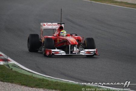 Terminan los test de pretemporada en el Circuit de Catalunya con Felipe Massa en lo más alto