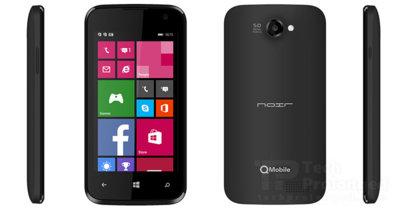Así es el QMobile W1, un auténtico low cost que intentará implantar Windows Phone en Pakistán.