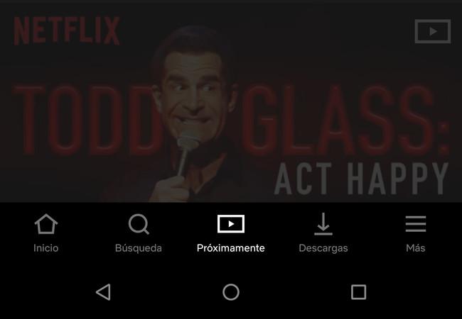 Netflix estrena el apartado 'Próximamente' con su nueva interfaz: ahora podrás conocer sus próximos estrenos
