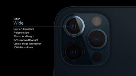 cámara iphone 12 pro max