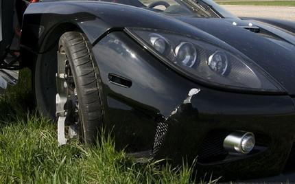 Koenigsegg CCXR accidente Top Gear