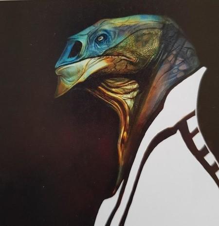 Arte conceptual sobre Dryden Vos, el villano de 'Han Solo: Una historia de Star Wars'