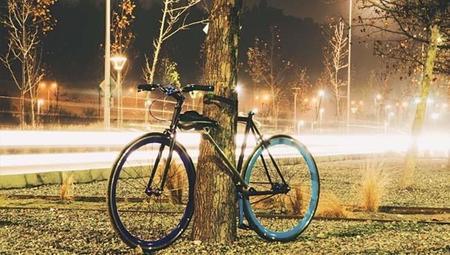 Una bicicleta con un diseño clásico imposible de ser robada