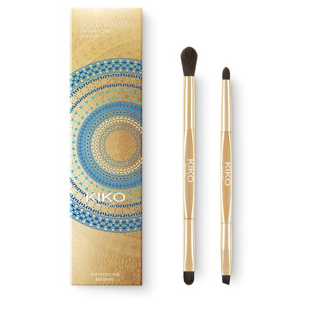 Gold Waves Eye Perfector Brush Kit