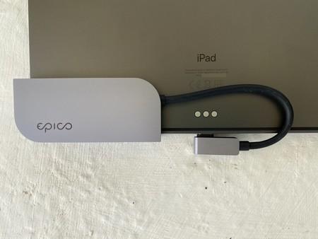 Hub USB-C para iPad Pro de Epico: añade hasta seis conexiones extra al USB-C de tu iPad