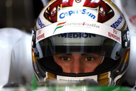 Adrian Sutil es favorito para ser piloto oficial de Sahara Force India