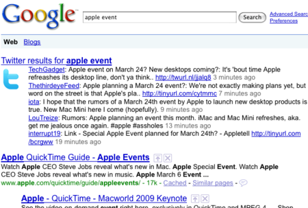 Google introducirá un buscador interno y recuperará la búsqueda en tiempo real para Google+