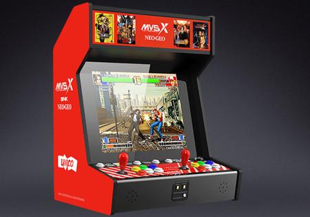 SNK NEOGEO MVSX: una máquina recreativa con 50 juegos de SNK preinstalados para jugar como antaño desde casa