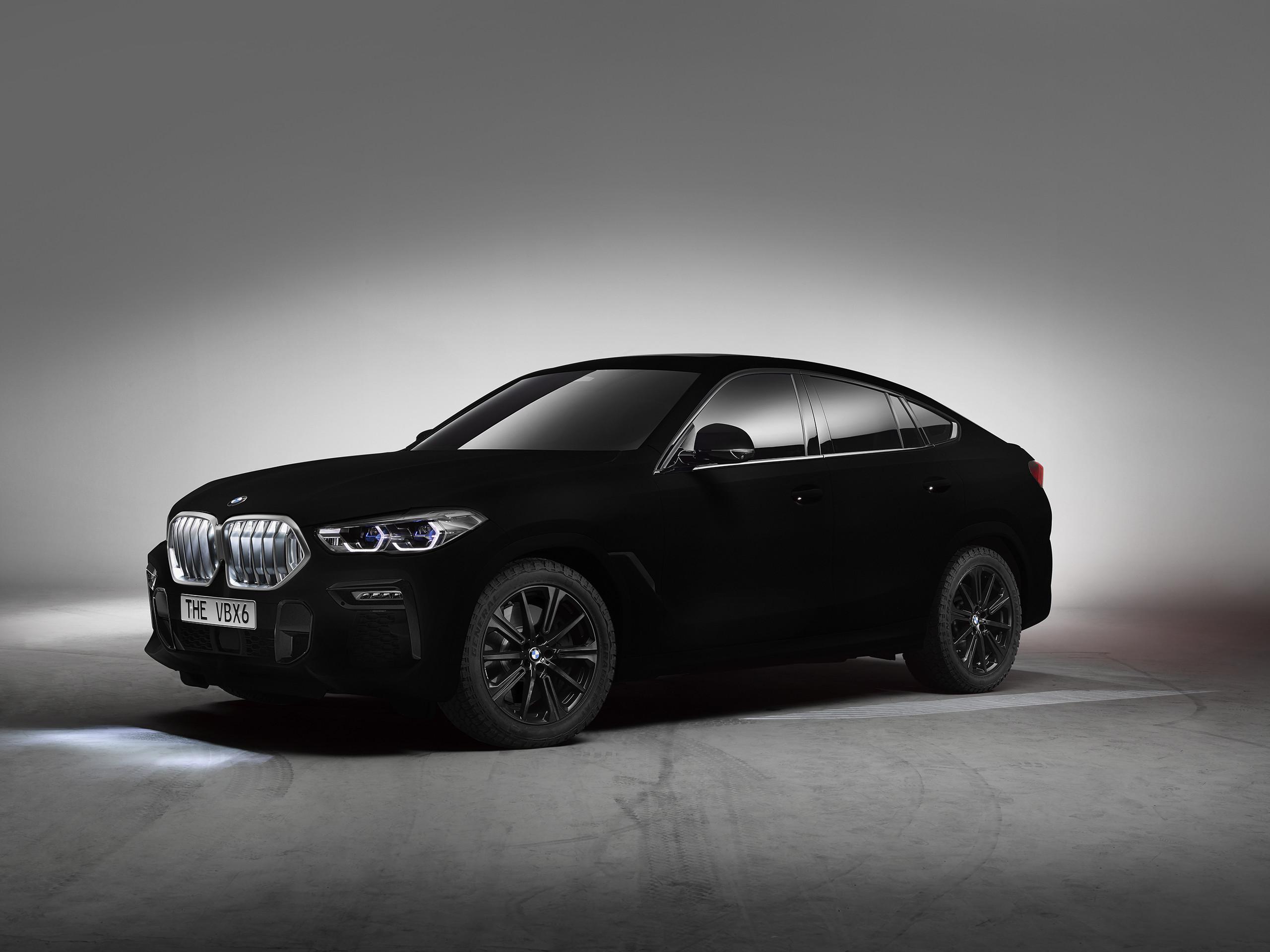 Foto de BMW X6 Vantablack (1/10)