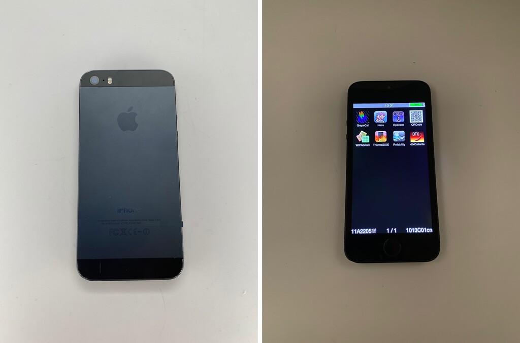 Este prototipo de iPhone 5s en grafito ya estaba listo en diciembre de 2012
