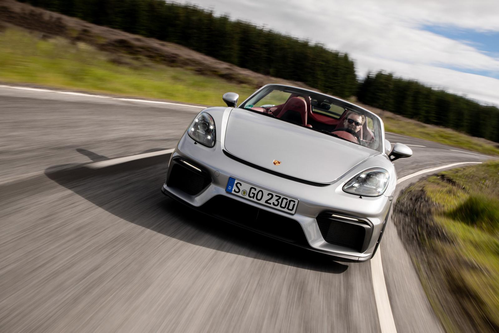 Foto de Porsche 718 Spyder (prueba contacto) (149/296)