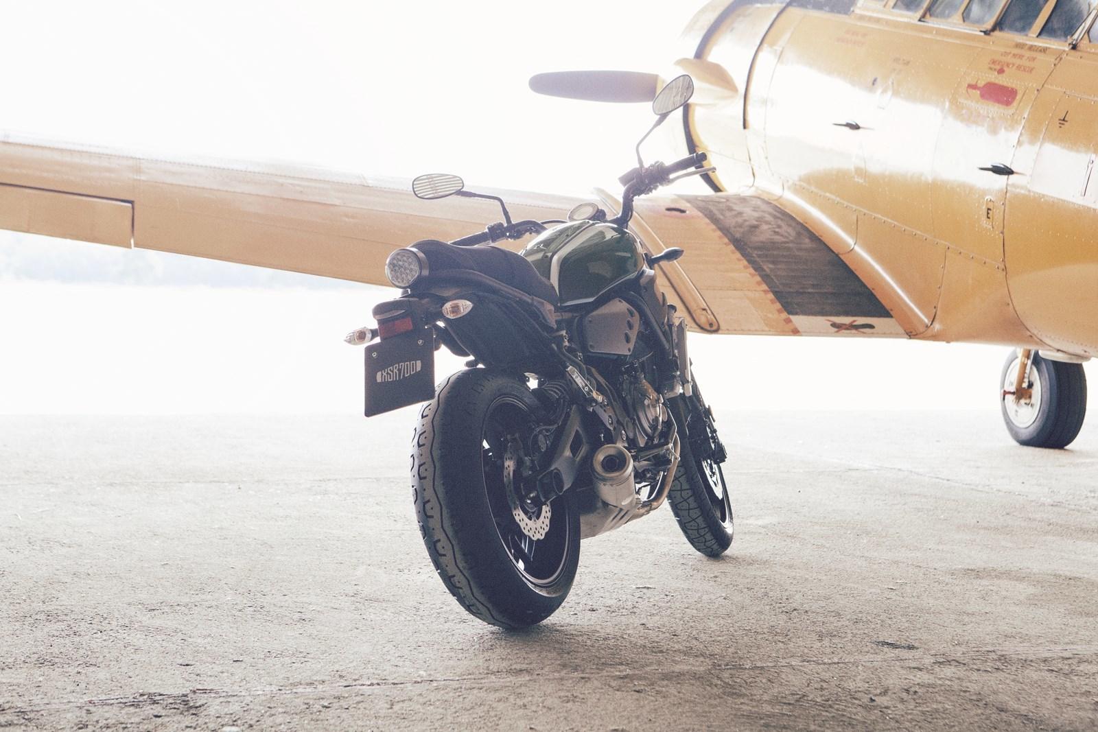 Foto de Yamaha XSR700 en acción y detalles (12/41)