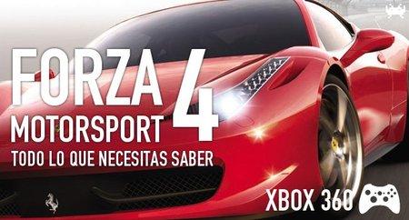 'Forza Motorsport 4', todo lo que necesitas saber sobre el nuevo 'Forza Motorsport'