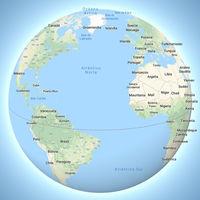 La Tierra deja de ser 'plana' en Google Maps y Groenlandia, por fin, ya no parece más grande que África