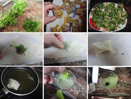 Receta de bocados de atún con salsa de lima y soja