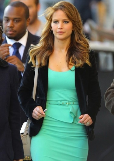 Jennifer Lawrence lo tiene todo muy bien colocado... excepto los pechos