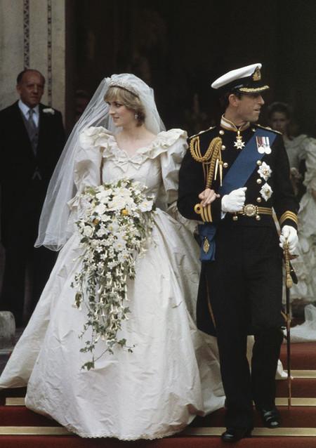 Diana Spencer Ladydi boda vestido de novia