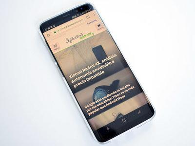 Cómo usar el filtro de luz azul en los Samsung Galaxy S8 y S8+