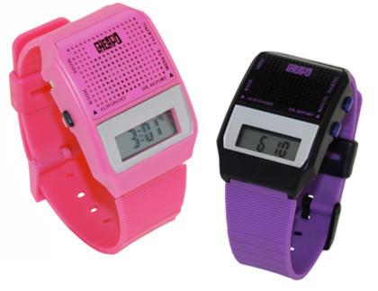 Cheapo, un reloj que habla