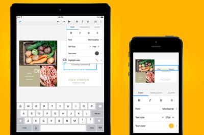 Google Slides, la suite ofimática de Google se completa y la oferta en iOS crece