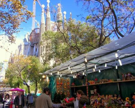 Feria De Navidad De La Sagrada Familia Barcelona