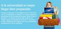 Comienza la campaña Vuelta a Clase de Apple, del 11 de junio al 21 de septiembre de 2012