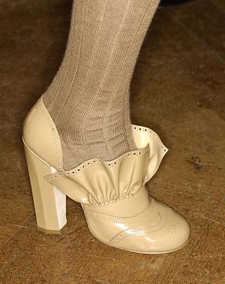 El calzado de Miu Miu otoño-invierno 2007/08