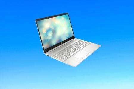 """Este portátil HP15s es un """"pepino"""" para la vuelta a clase: con AMD Ryzen 7, 16GB de RAM y de oferta 584 euros en Amazon"""