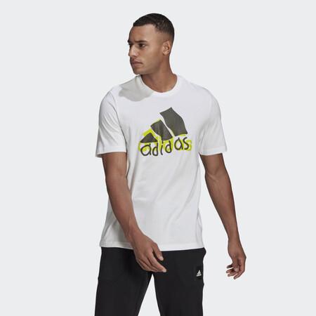 Camiseta Athletics Graphic Blanco Gn6844 21 Model