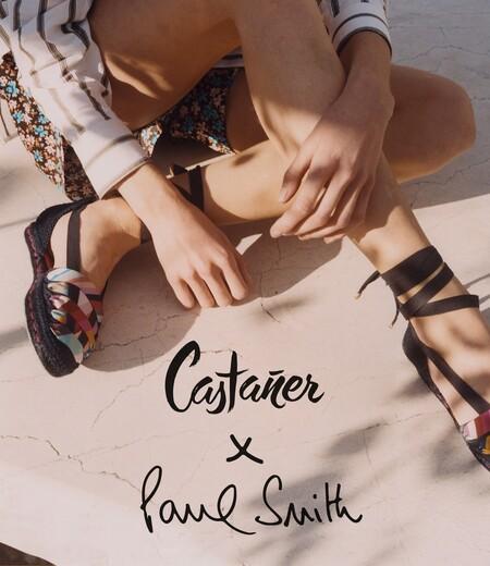 Con la llegada del buen tiempo Castañer presenta su nueva colección de zapatos en colaboración con Paul Smith