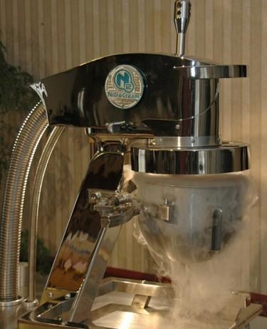Nitrógeno para hacer helados en el momento