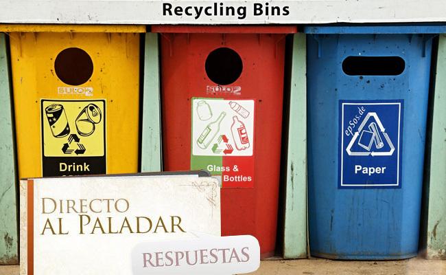 Pregunta semana reciclaje