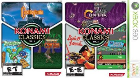 'Konami Classics': packs de clásicos de Konami en formato físico