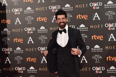 Los hombres más elegantes de los Premios Goya 2017
