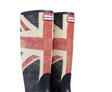 Las nuevas botas Hunter con la Union Jack o como no se puede ser más británico