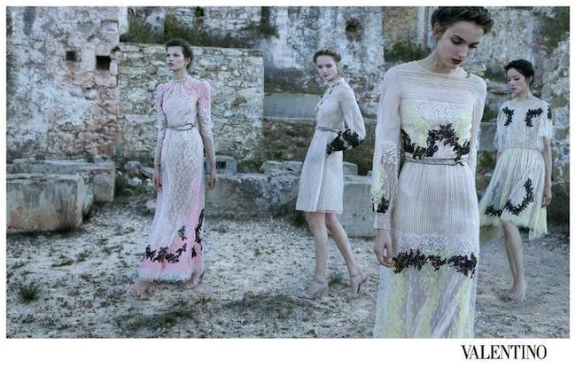 Valentino campaña Primavera-Verano 2012