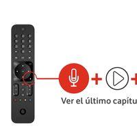 El nuevo mando de Vodafone TV ahora tiene control por voz