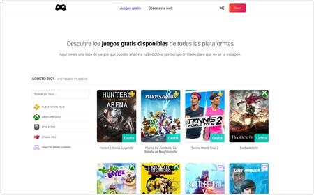 Página principal de juegosdelmes.com