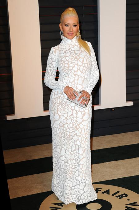 Christina Aguilera en modo choni total
