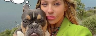 Anita Matamoros sufre el peor accidente para una 'influencer': así han quedado sus tacones de 600 pavos tras ser mordisqueados por su perro