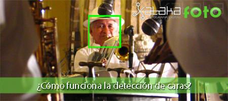 ¿Cómo funciona la detección de caras?