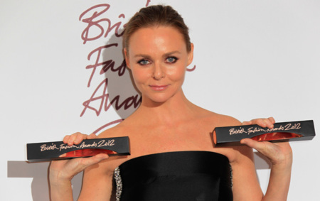 Stella McCartney y Cara Delevigne triunfan en los British Fashion Awards 2012