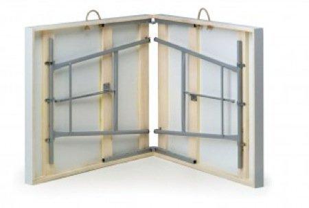 Mesa plegable de jard n se pliega como una maleta - Mesa plegable maleta leroy merlin ...
