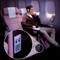 Vuela con Qantas, tu portátil e Internet