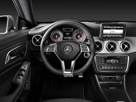 Mercedes CLA, interior