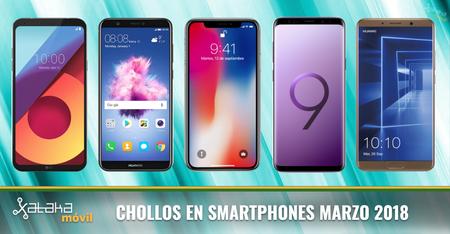 Los mejores chollos en smartphones con los operadores móviles en marzo