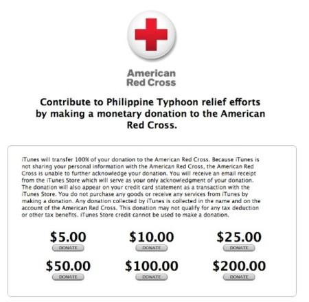 Apple abre una página especial de donaciones para enviar ayuda a los afectados del tifón en las Filipinas